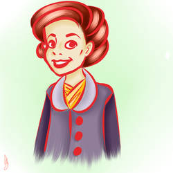 Red outline by vintage-amy