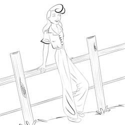 Lineart WIP by vintage-amy