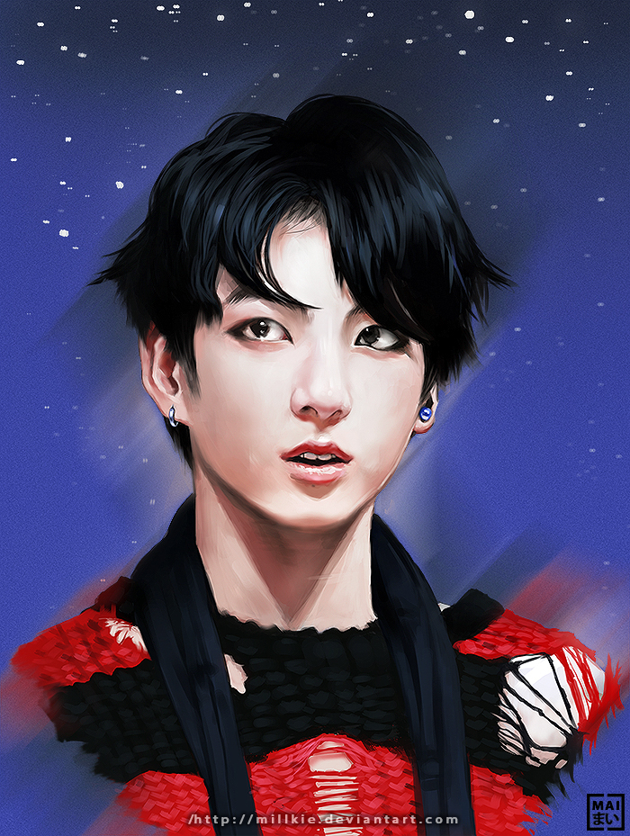 Jeon Jungkook by Millkie on DeviantArt