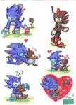 Sonic Werehog Meet Shadow