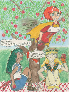 Magic School Applepicking for Danni-Stone by Shinto-Cetra