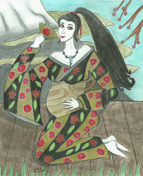 Izumo no Okuni by Shinto-Cetra