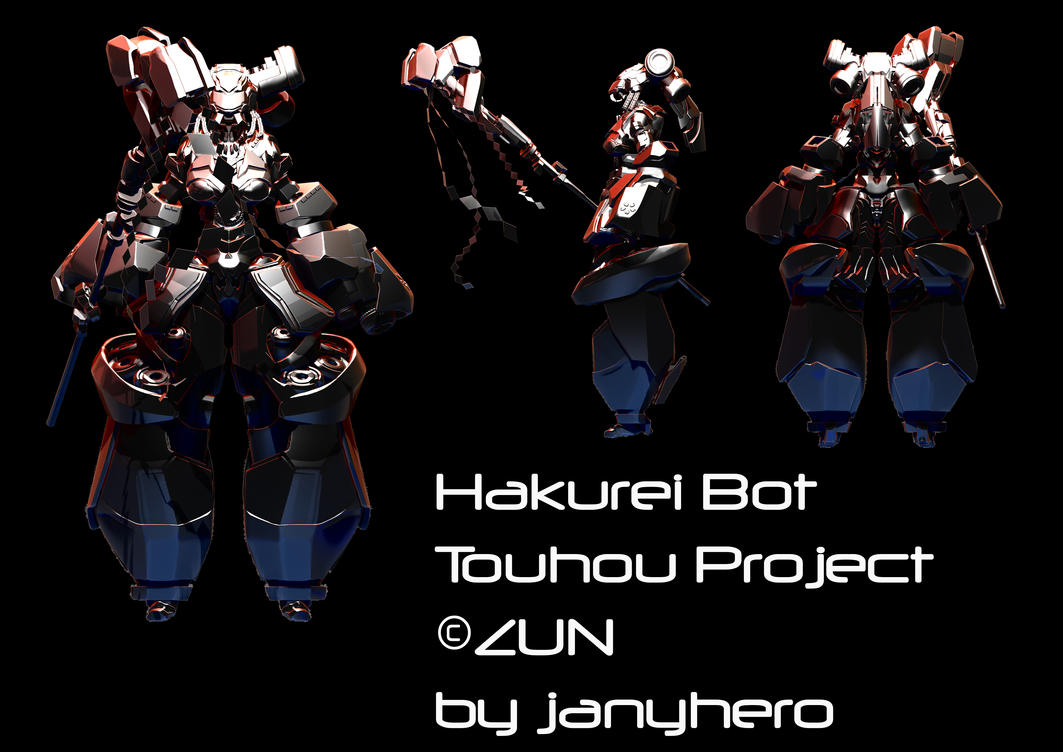 Hakurei Bot - nearly done by janyhero