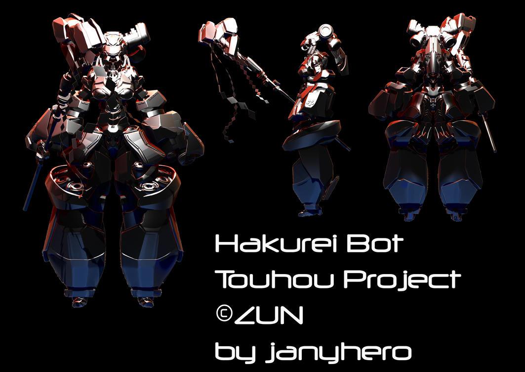 Hakurei Bot - nearly done by janyhero