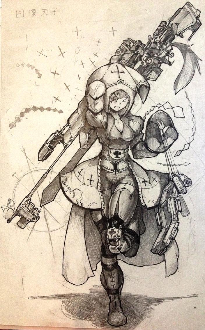 Tenshi Healing Sniper by janyhero