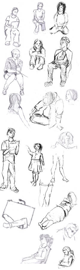 Sketches from acting class '12