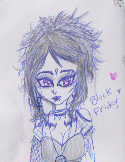 it's Black Friday Doodle Fan art by SaryRodriguez