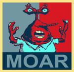 Moar Krabs Hope Poster