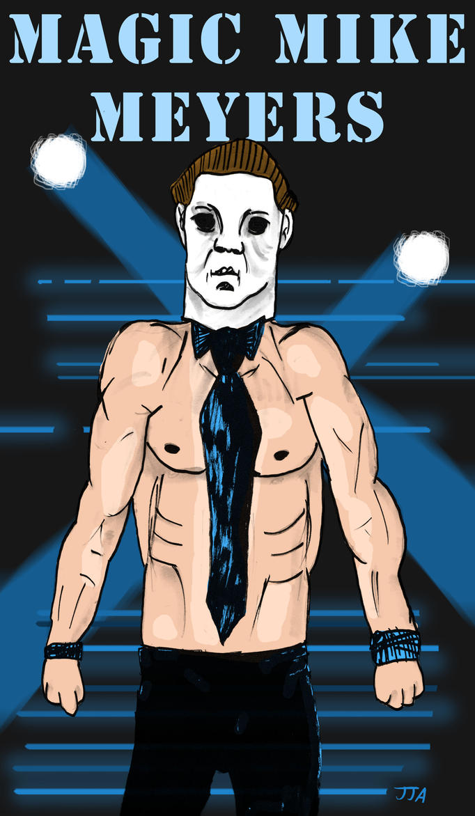 Magic Mike Meyers by jared811111
