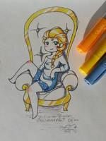 The throne by p-l-u-m-b-u-m