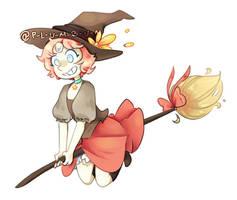 Witch by p-l-u-m-b-u-m