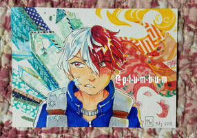 todoroki - [sold] by p-l-u-m-b-u-m