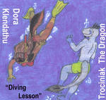 Diving Lesson For A Dragon