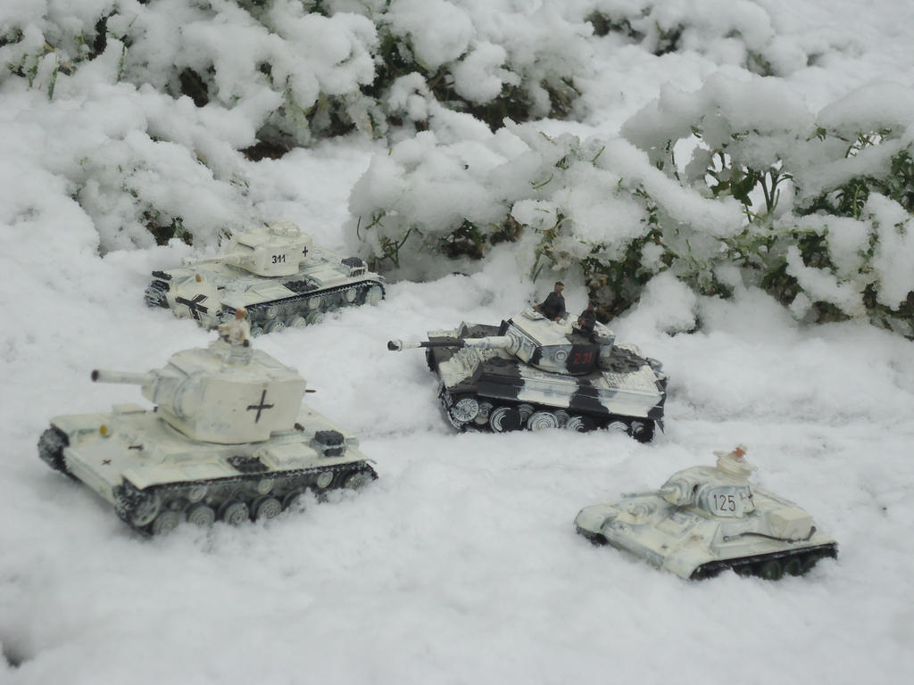 Winter 1943 by DingoPatagonico