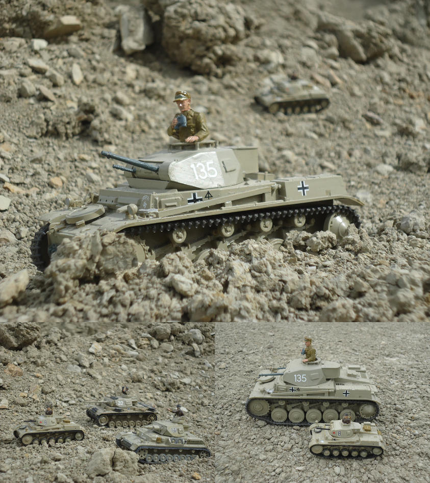 Panzer II  Ausf F and G by DingoPatagonico