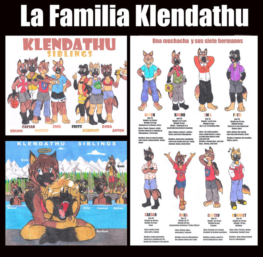 Ready To Print : Klendathu Siblings Basic Guide by DingoPatagonico