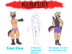 Pose practice: Kurfust from back
