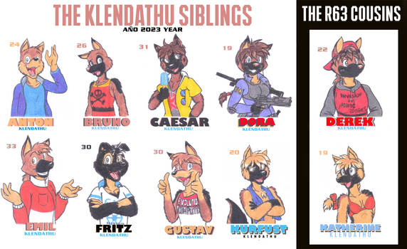 The Klendathu Pack by DingoPatagonico