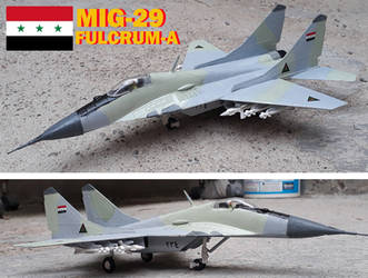 Iraqi MIG 29, complete! by DingoPatagonico