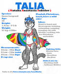 Talia reference image