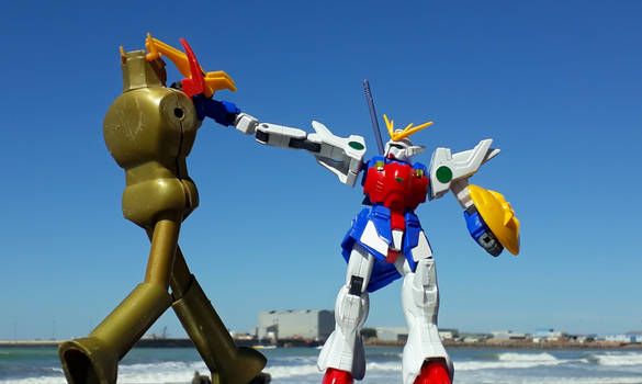 NEVER say IS A GUNDAM