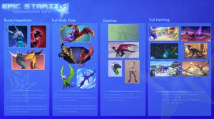 Commission Information (updated 2017) by Epic-Starzz