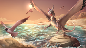 Chasing the Sun! (commission)