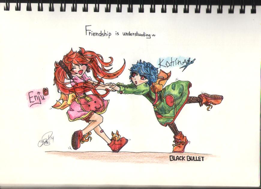 [BB fanart] Friendship by AgiiChan