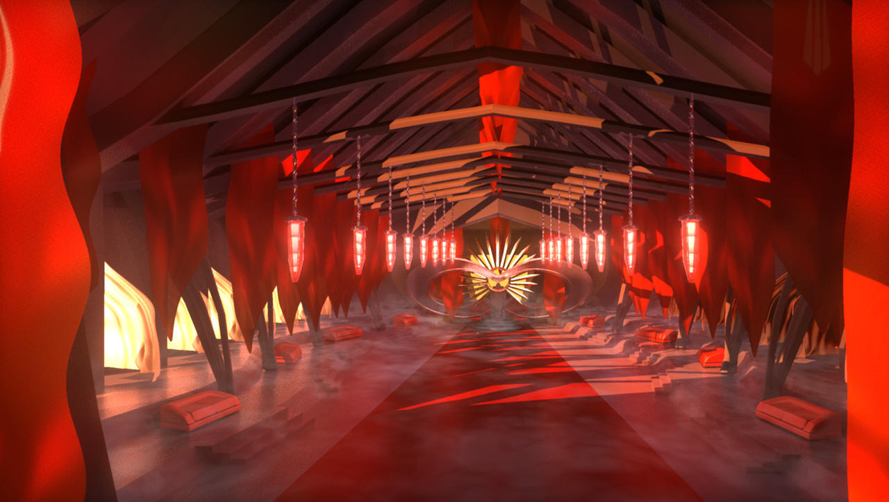 Evil kings throne room - Throne Room By Krotana