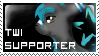 Twi Supporter Stamp by Trixiemegatoon
