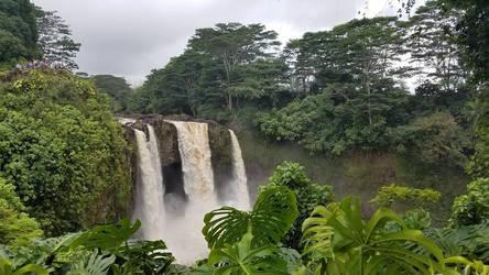 Churning Falls by Thalea