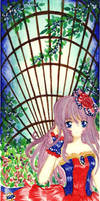 Colorete: Blurequoise Garden by shizuneyuki8720