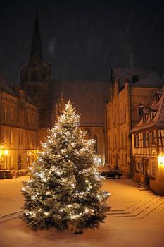 white christmas in Kronach