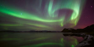 northern lights by mescamesh