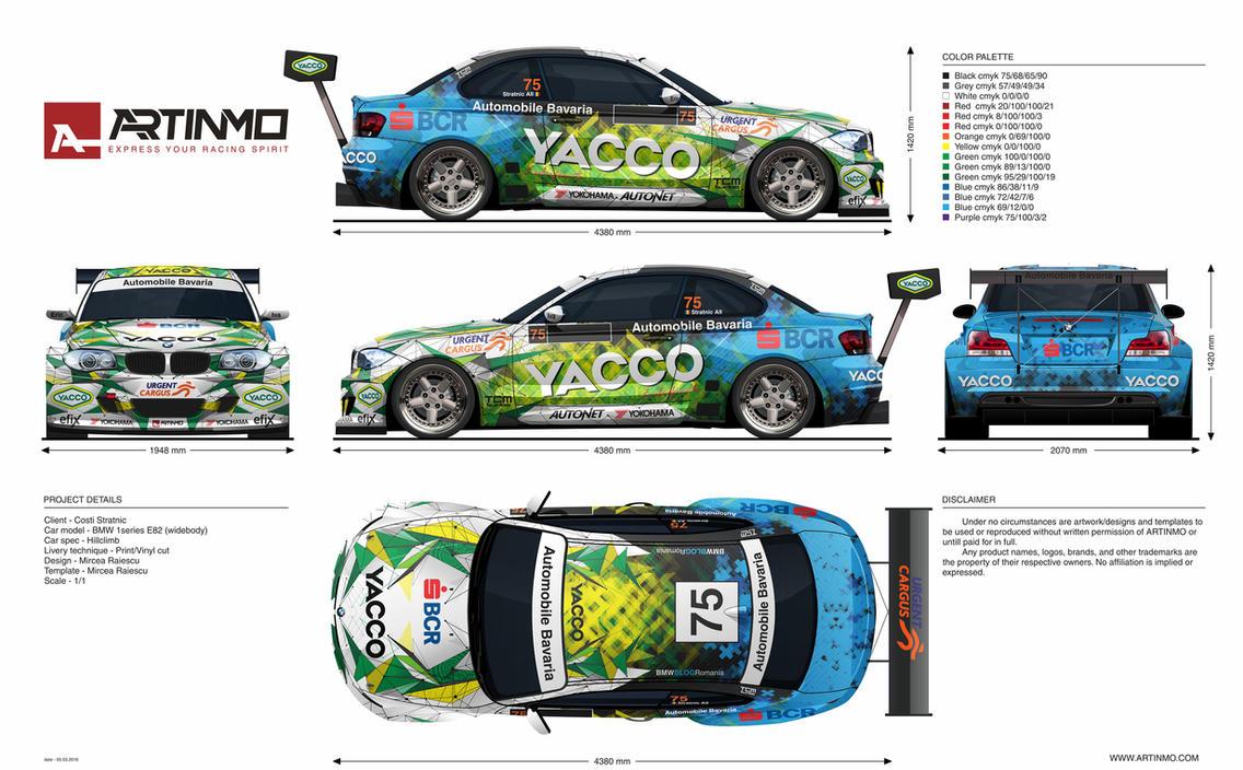 Race Car Livery Template