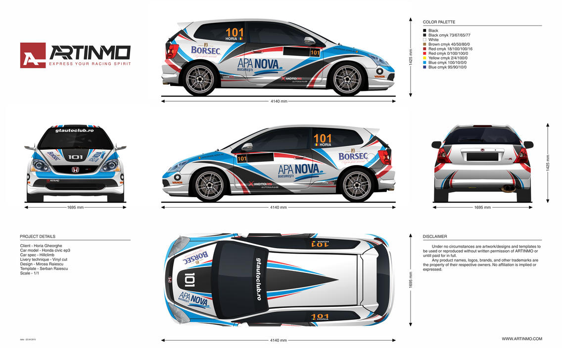 Honda Civic Ep3 Livery By Artinmo On Deviantart