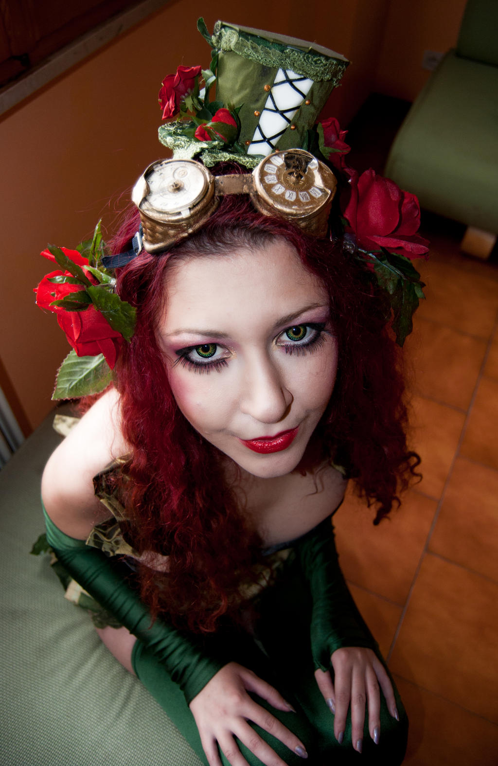 Steampunk Poison Ivy H... Uma Thurman
