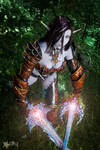 Blade Dancer! Dark Elf in draconic- Lineage II