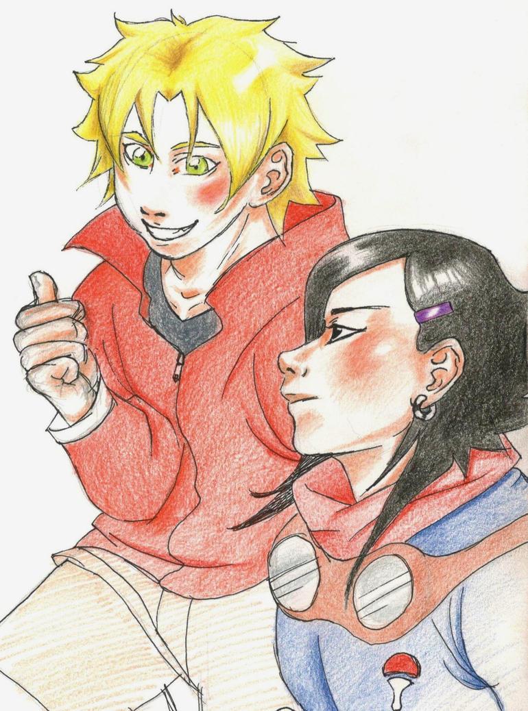 Mikoto and Shinachiku by Conradi