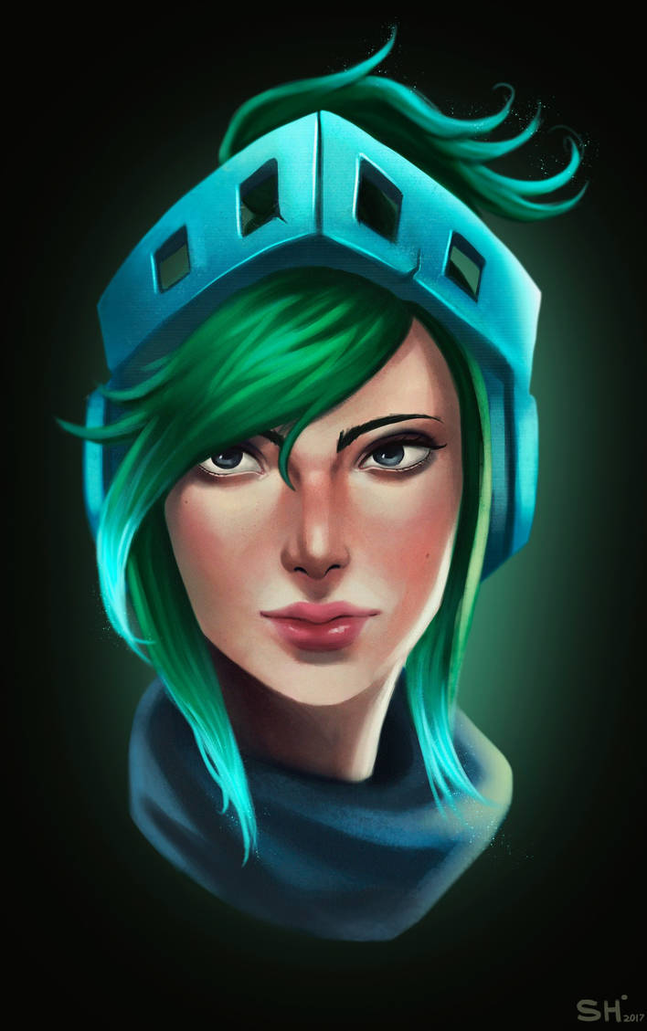 Arcade Riven portrait by ShackleArt
