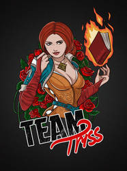 Team Triss by ShackleArt