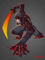 CyberOni by ShackleArt