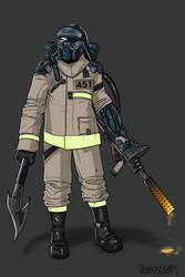 Fireman by ShackleArt