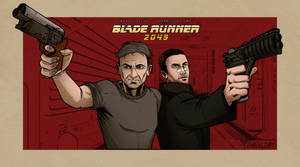 Blade Runner 2049 Fan poster by ShackleArt