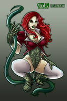 Poison Ivy by ShackleArt