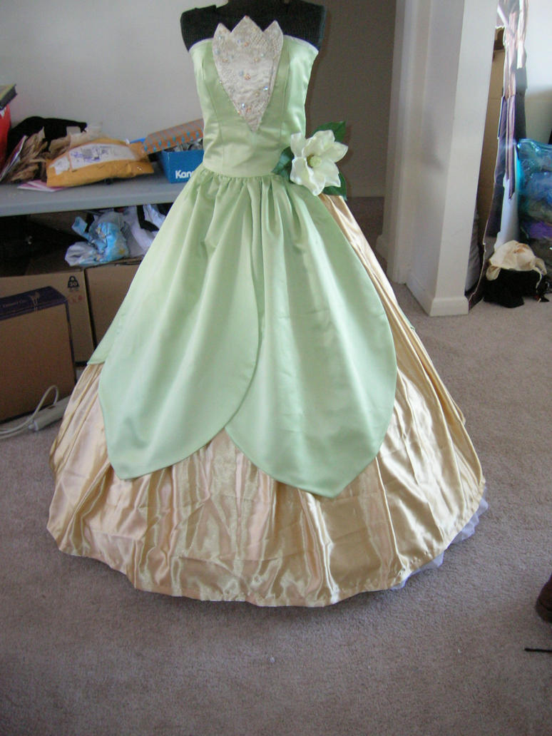Princess and the Frog dress by AllenGale on DeviantArt