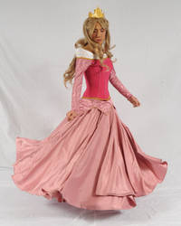 Princess Aurora Gown Twirl by AllenGale
