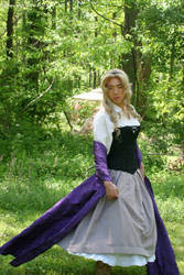 Briar Rose Costume Revamp With Wig and Makeup by AllenGale