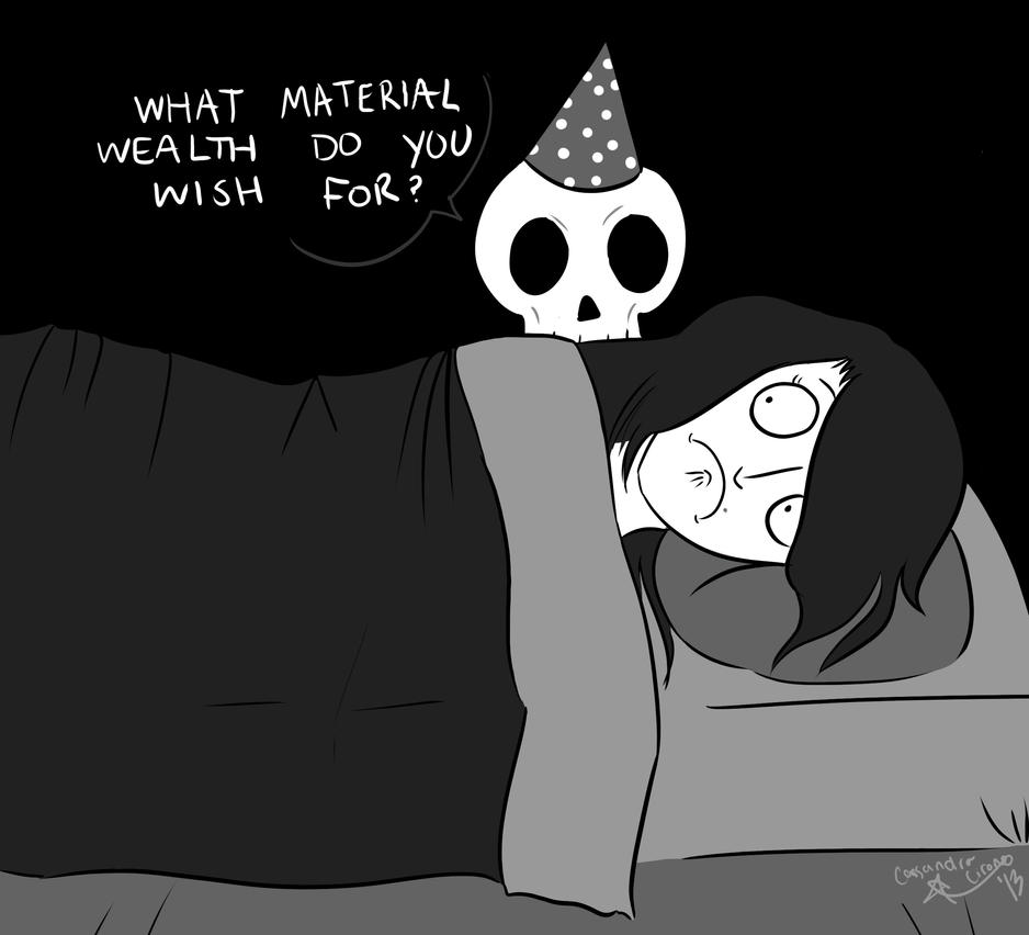 The Birthday Skeleton By StarTrippy On DeviantArt