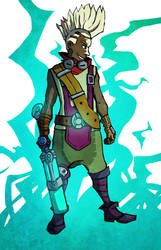 [ EKKO ]  The boy who shattered Time by Babouille